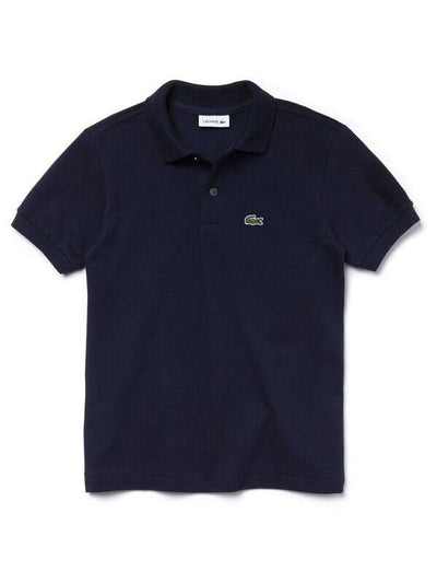 Lacoste Basic Kids Polo Navy (4684871532675)