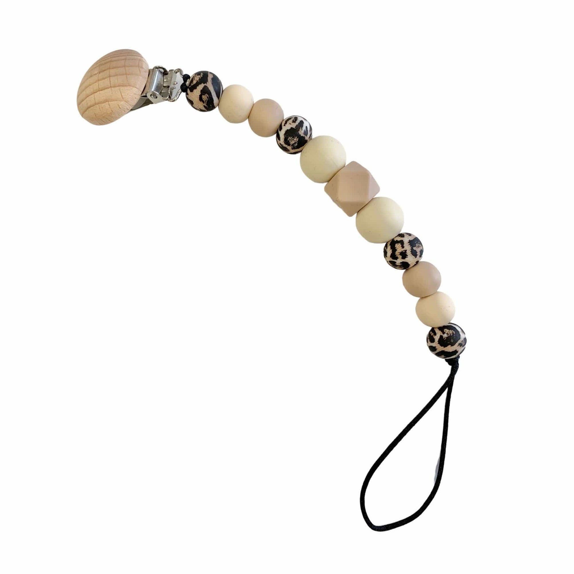 Hubba Bubba Co Dummy Clip - Natural/Leopard Tones