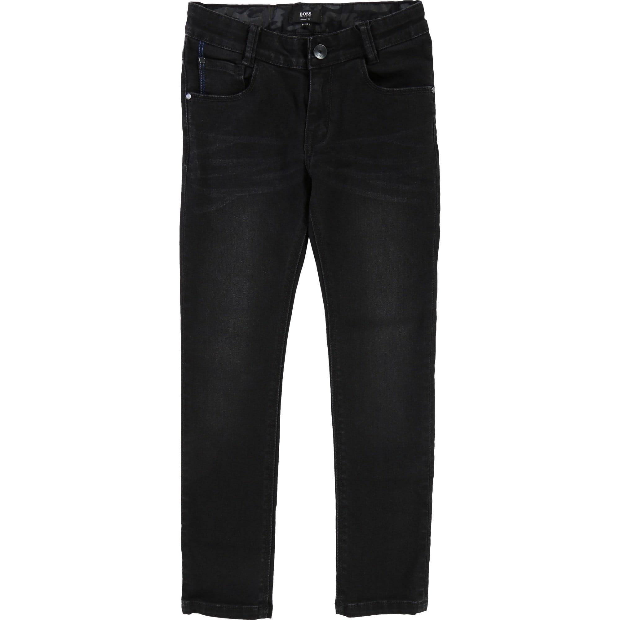 Hugo Boss Denim Jeans Black (4715348099203)