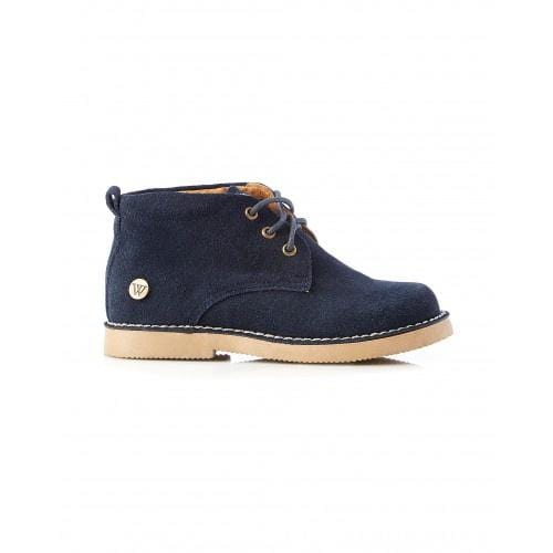 Walnut Harry Desert Boot Navy