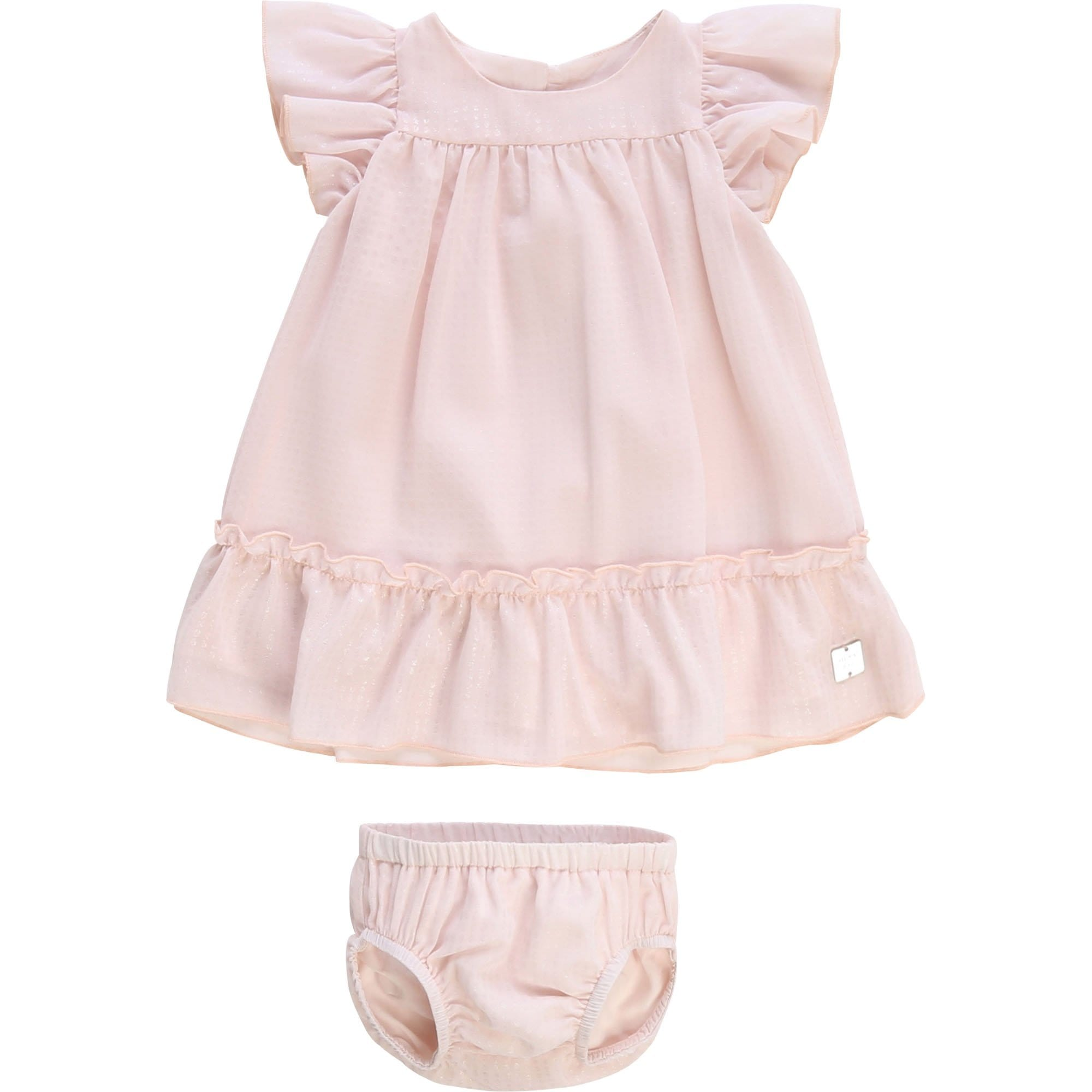 Carrement Beau Dress and Bloomer Set Pale Pink