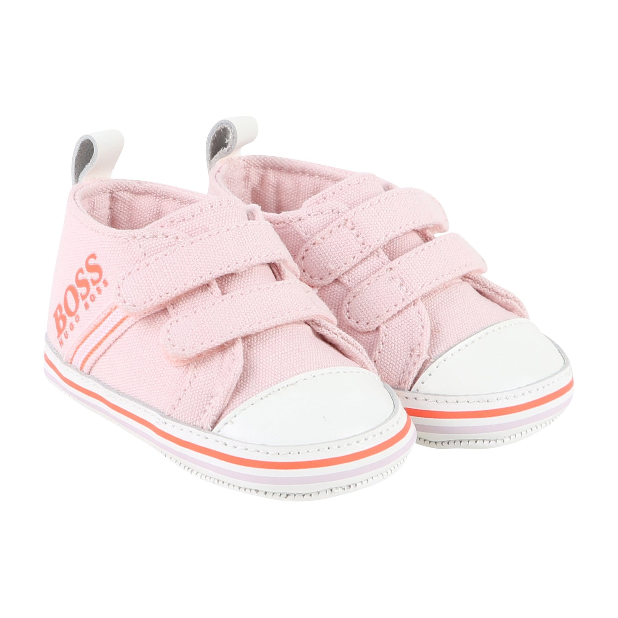 Hugo Boss Canvas High Tops Pink J99056/44L