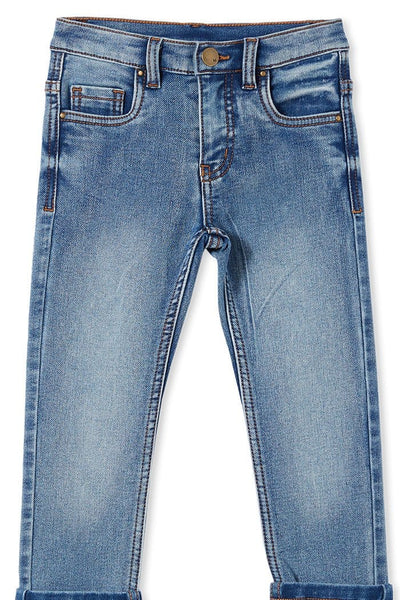 Milky Baby Mid Wash Denim Jeans