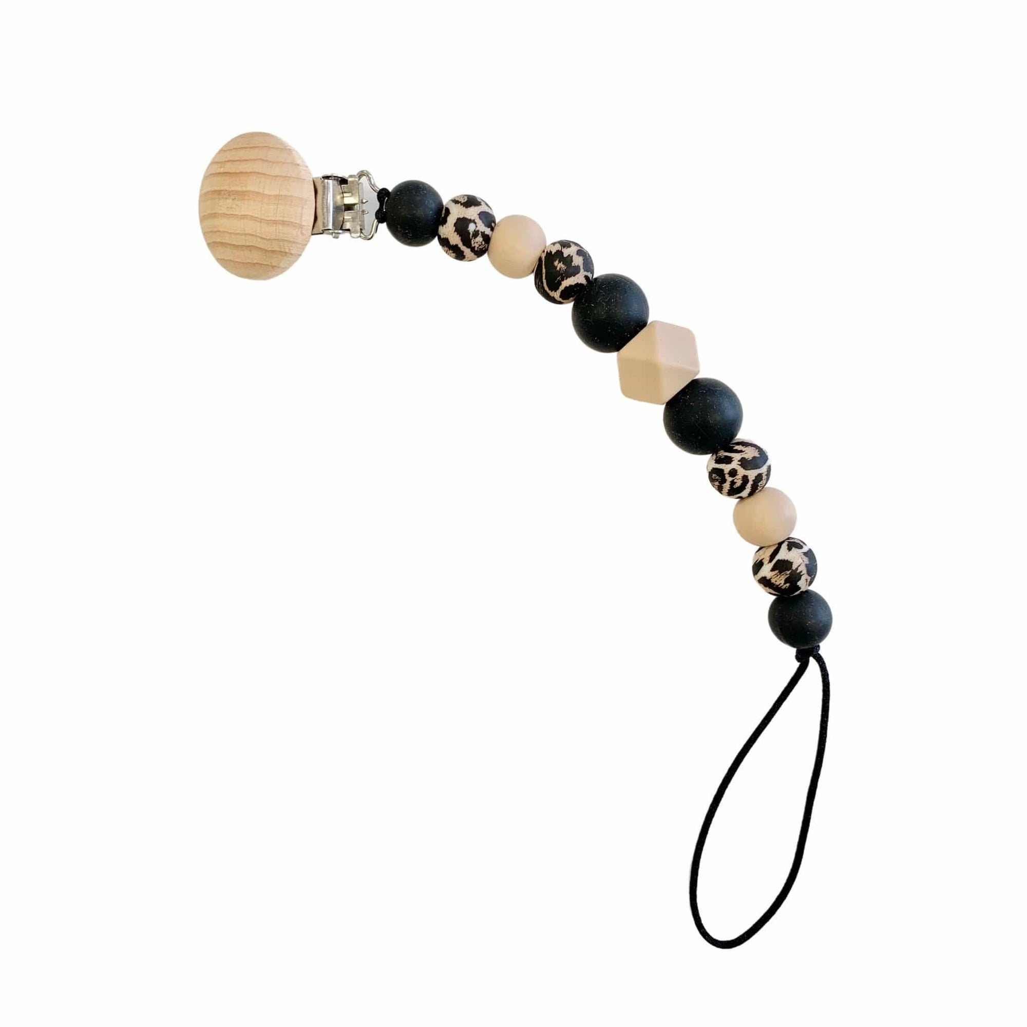 Hubba Bubba Co Dummy Clip - Black/Leopard Tones
