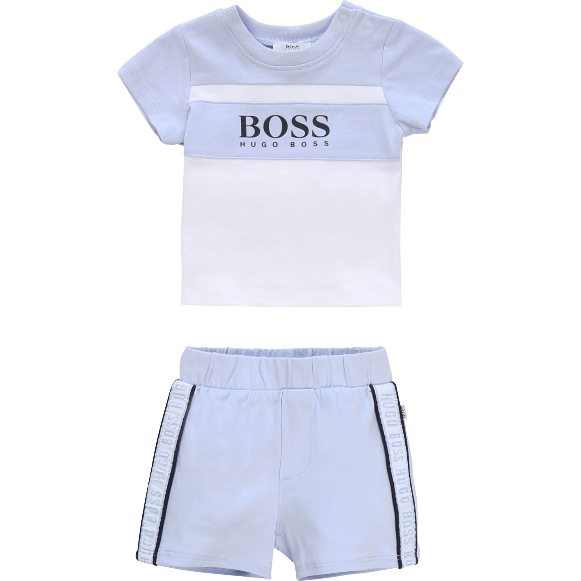 Hugo Boss T-Shirt and Shorts Set J98278/771