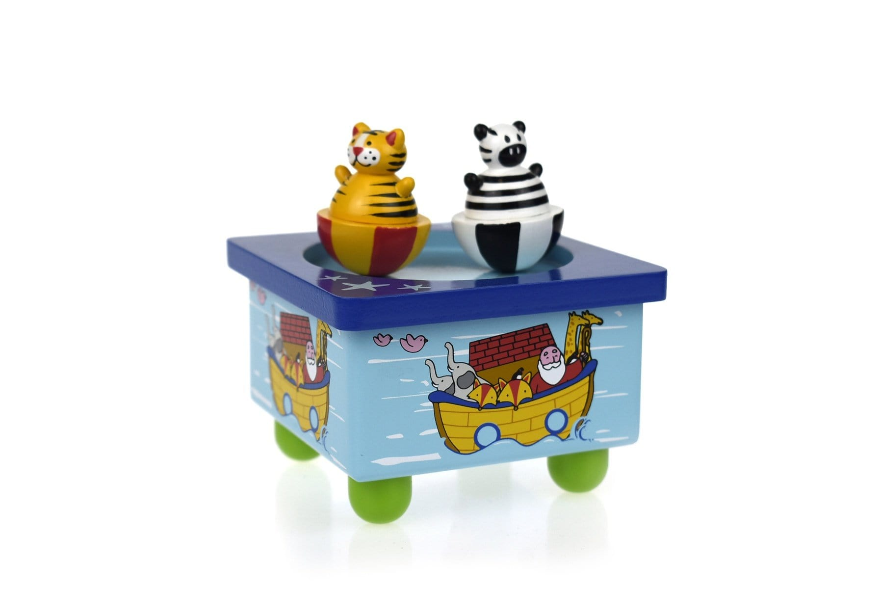 Eleganter Noah's Ark Music Box