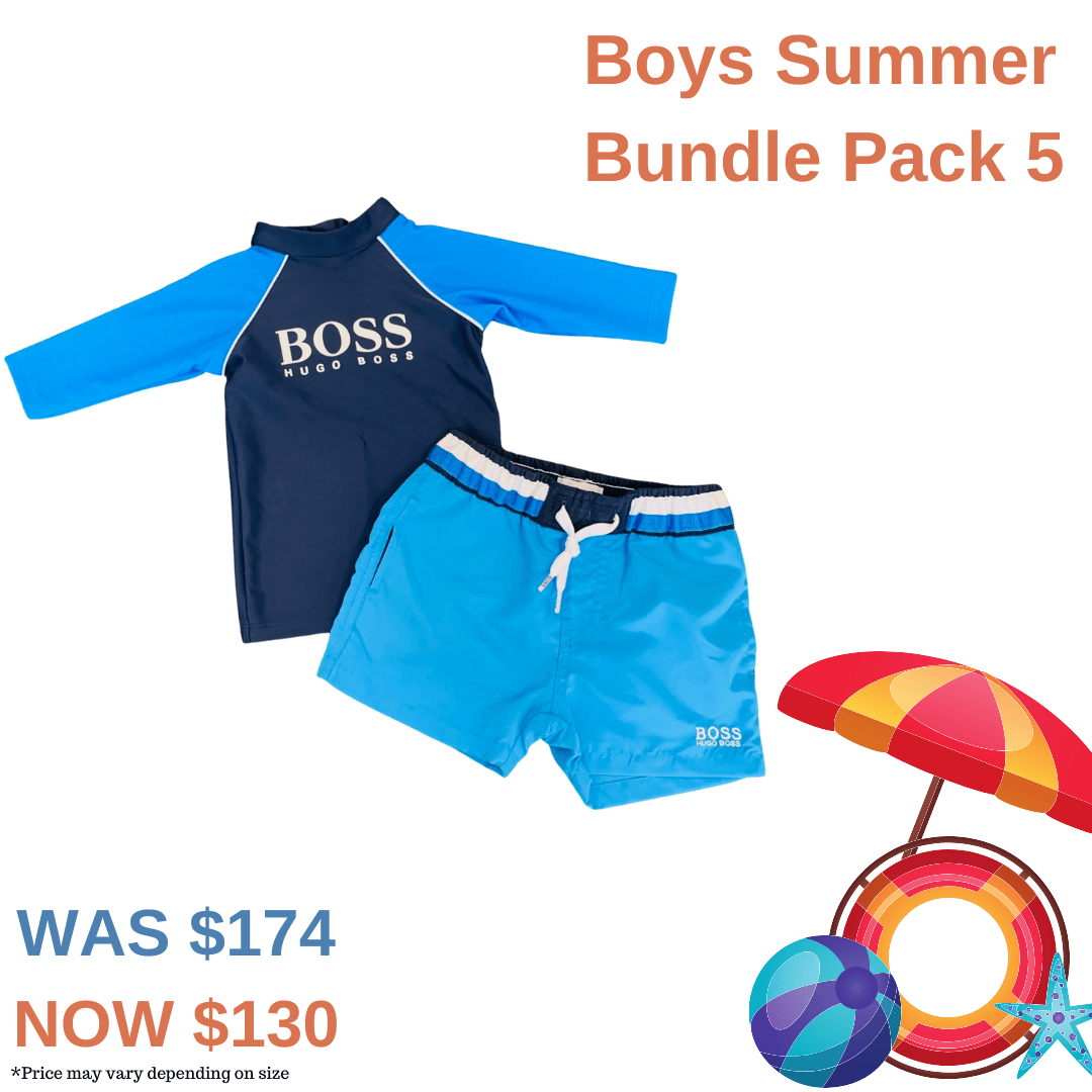 Boys Summer Bundle Pack 5