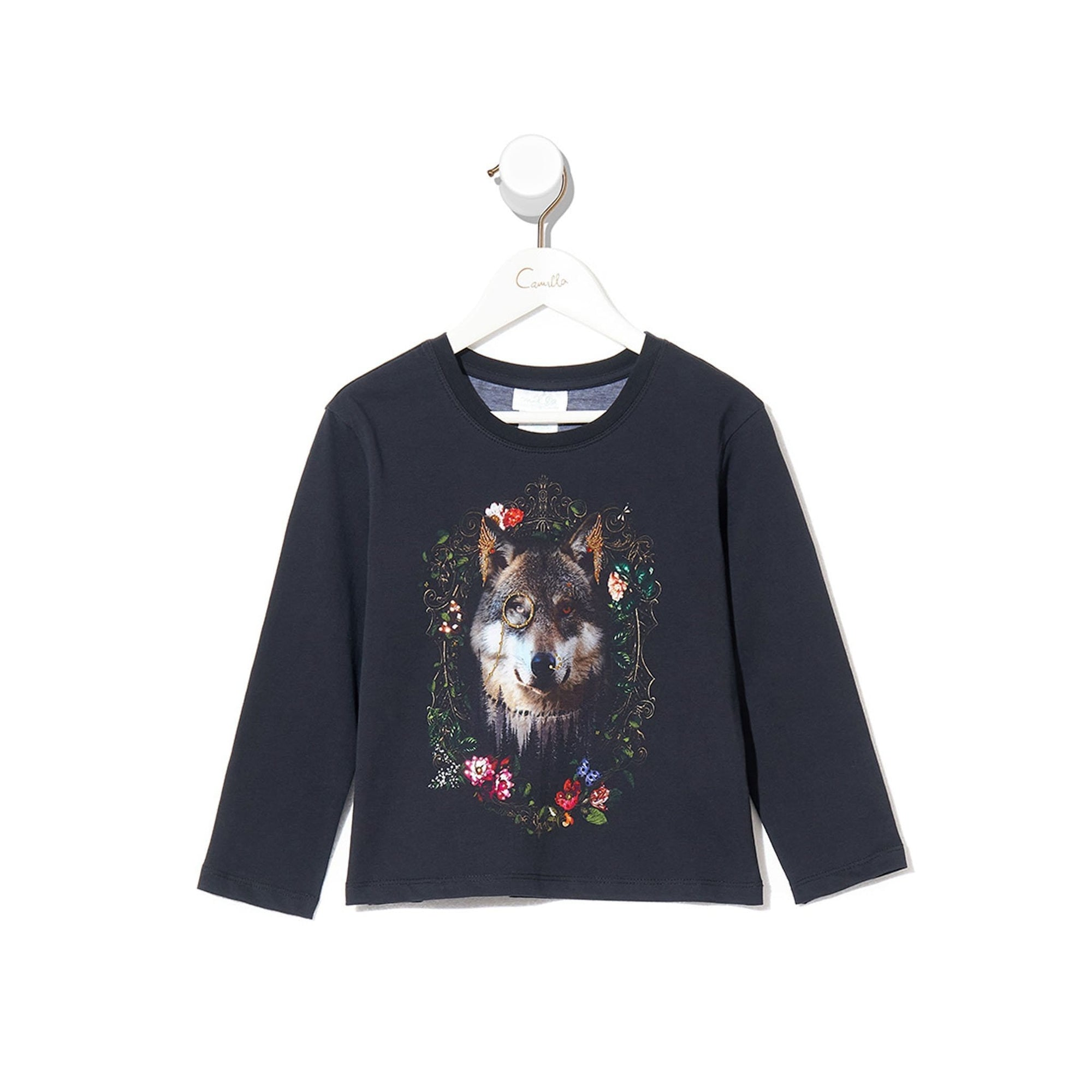 Camilla Nomadic Nymph Infants Long Sleeve Top