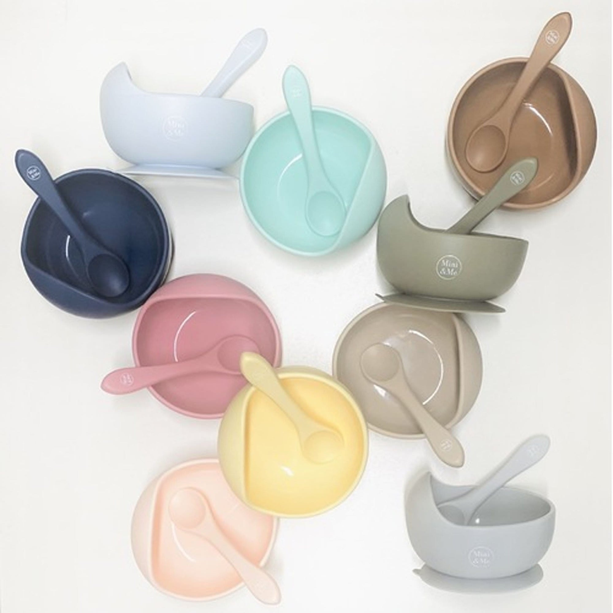 Mini & Me Wave Bowl and Spoon