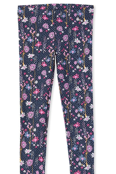 Milky Wild Flower Leggings