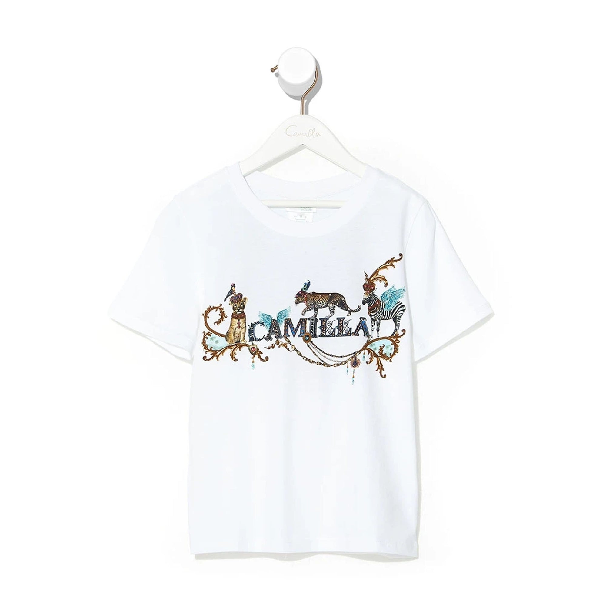 Camilla Animal Army Kids Short Sleeve T-Shirt
