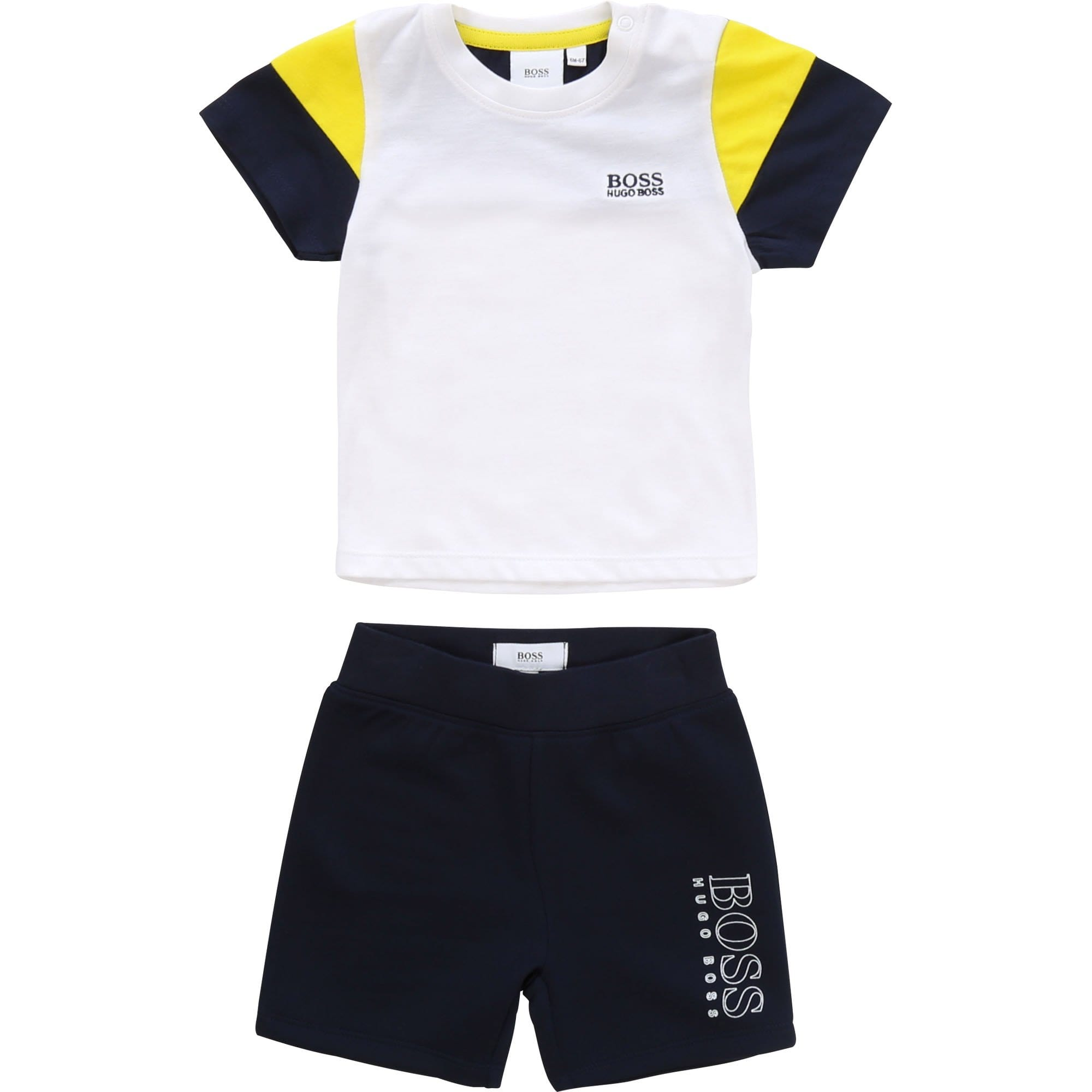 Hugo Boss T-Shirt and Short Set