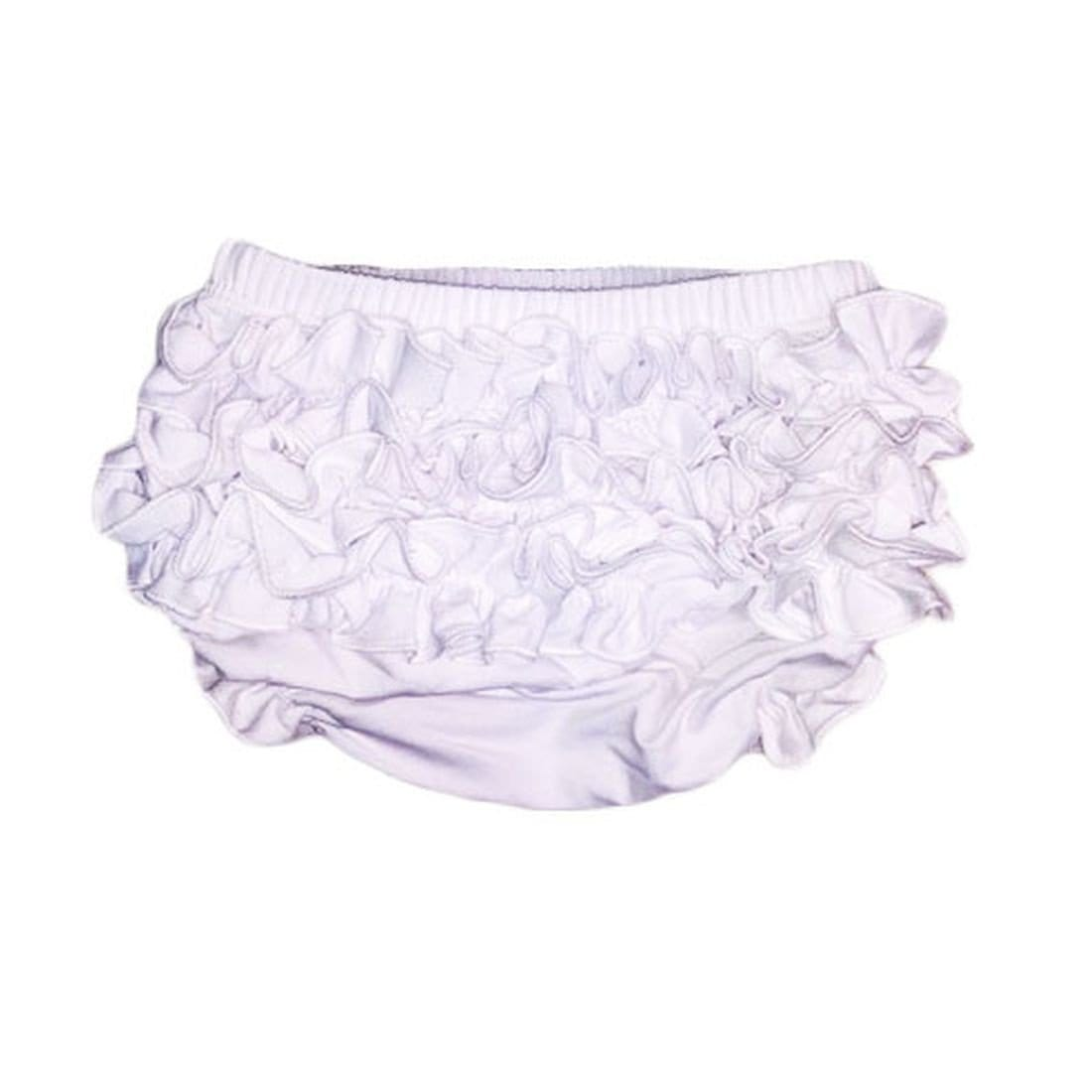 ES Kids White Baby Bloomers