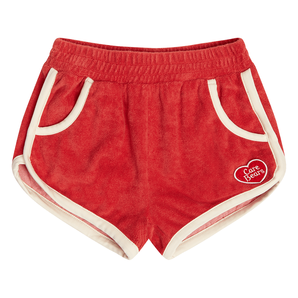 Rock Your Kid Red Happy Shorts - Care Bear