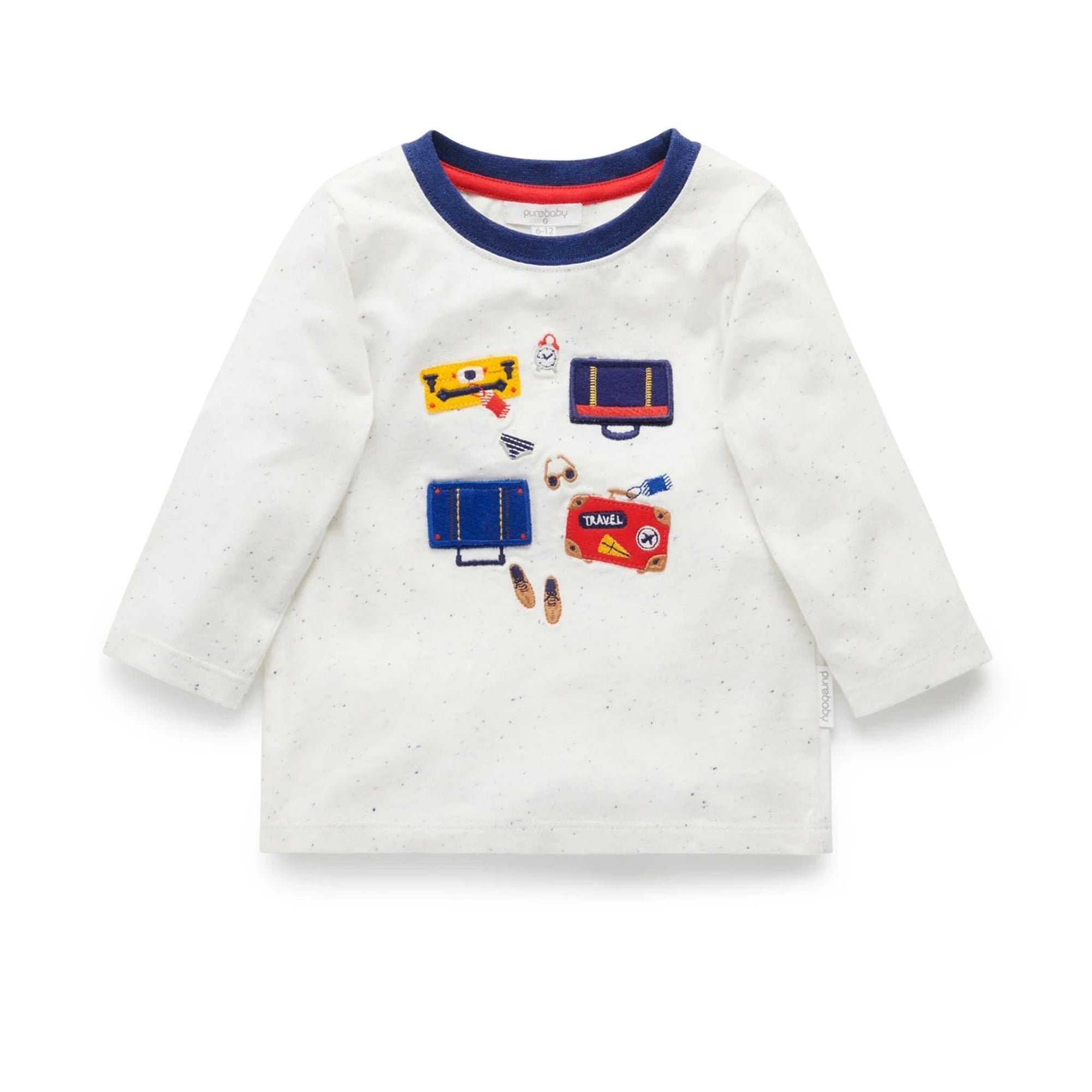 Pure Baby Travelling Light Tee Cloud Neppy (4688816636035)