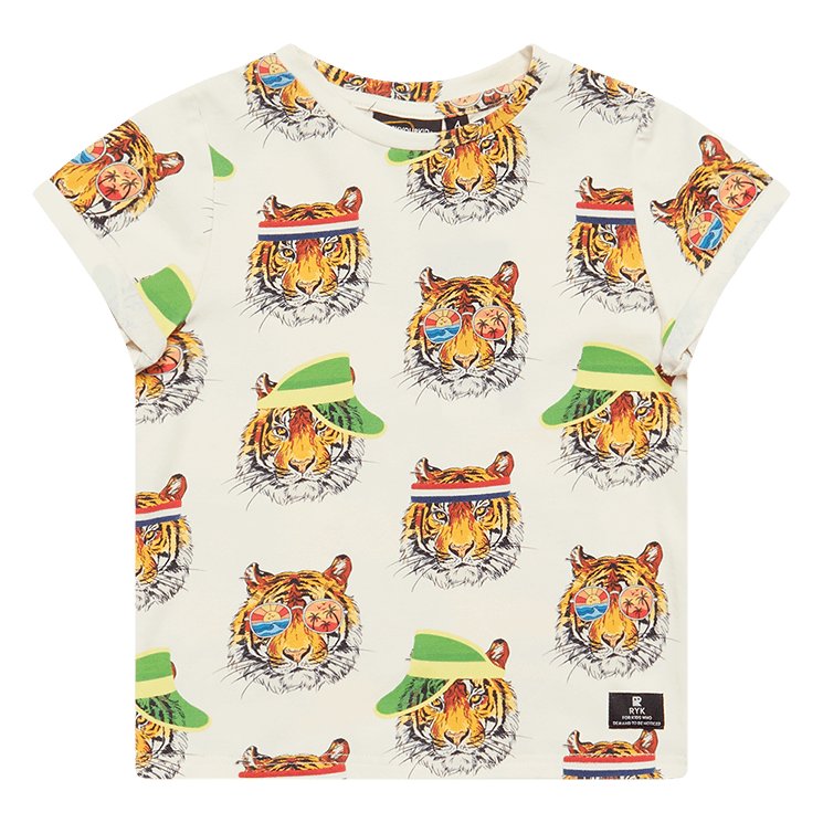 Rock Your Kid Retro Tiger Solo SS T -Shirt