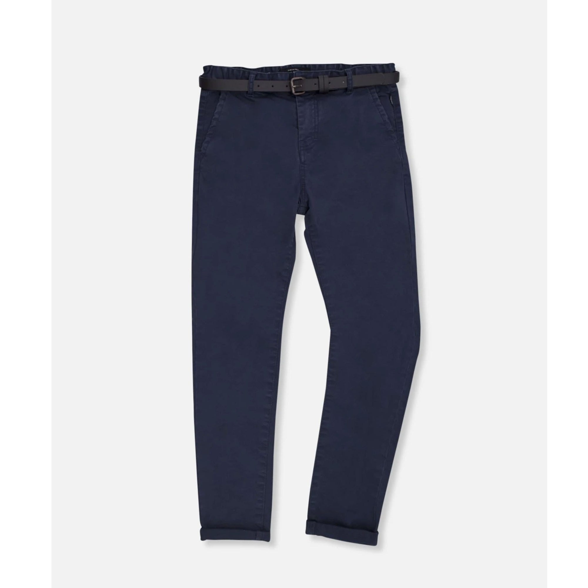 Industrie Kids Tweens Cuba Stretch Chino Navy (4637955260547)