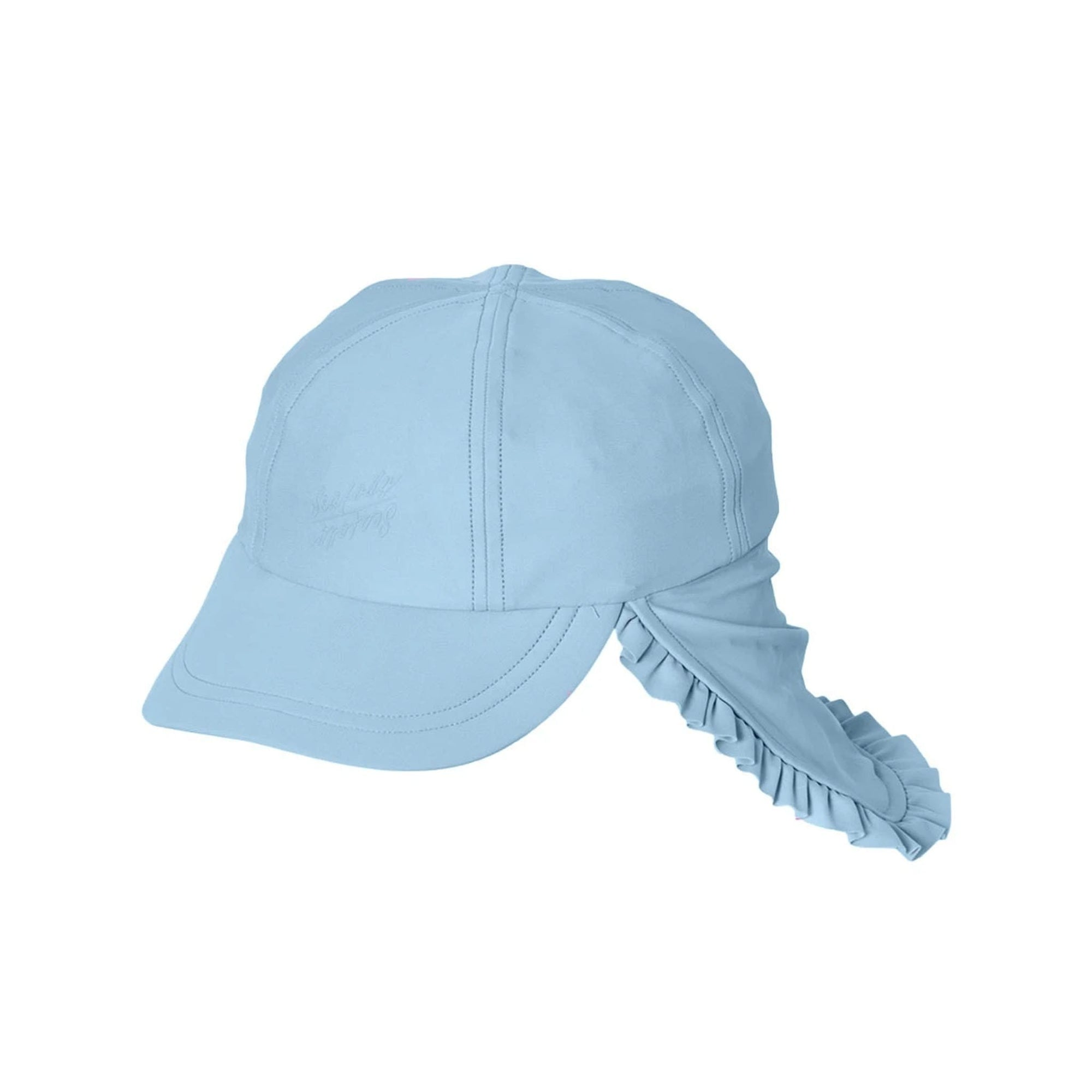 Seafolly Beach Flyer Cap - Corn Flower Blue