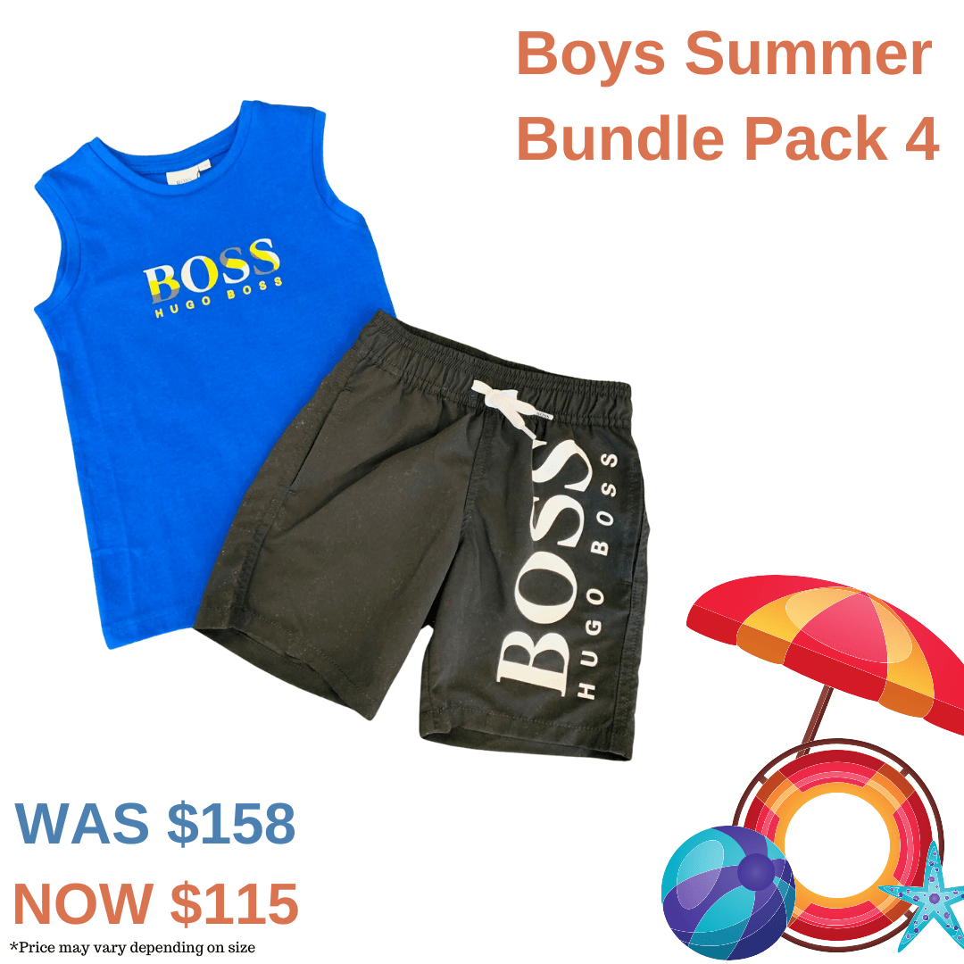Boys Summer Bundle Pack 4