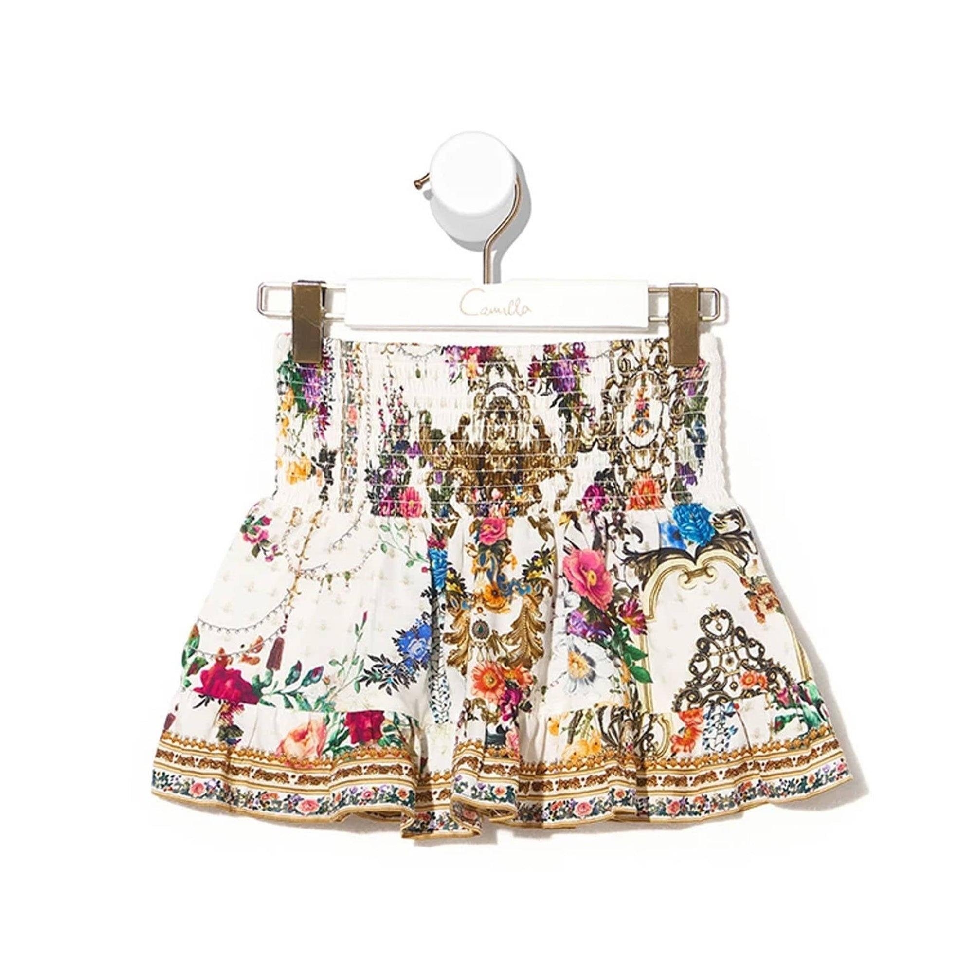 Camilla By The Meadow Kids Shirring Waist Skirt