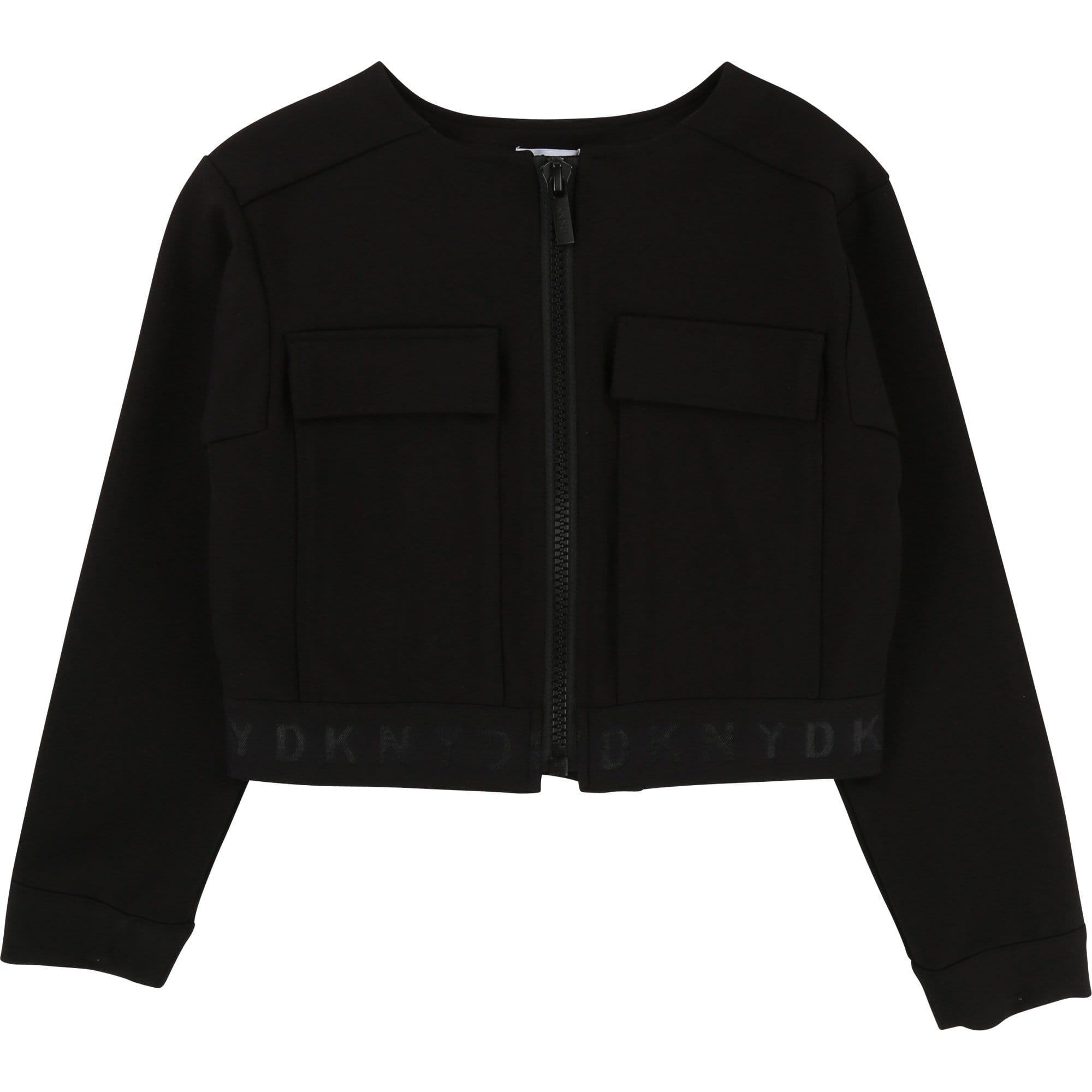 DKNY Girls Black Jacket (4716867780739)