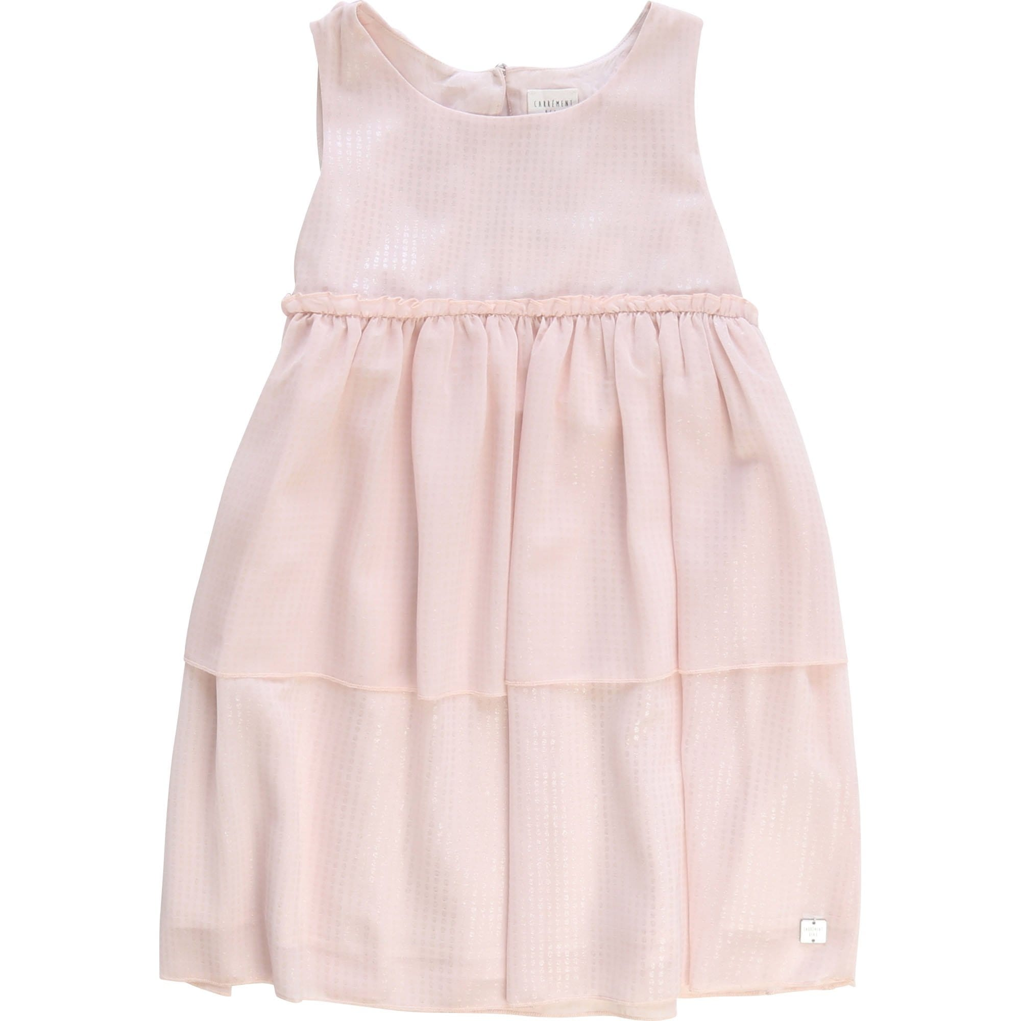 Carrement Beau Layered Dress Pale Pink