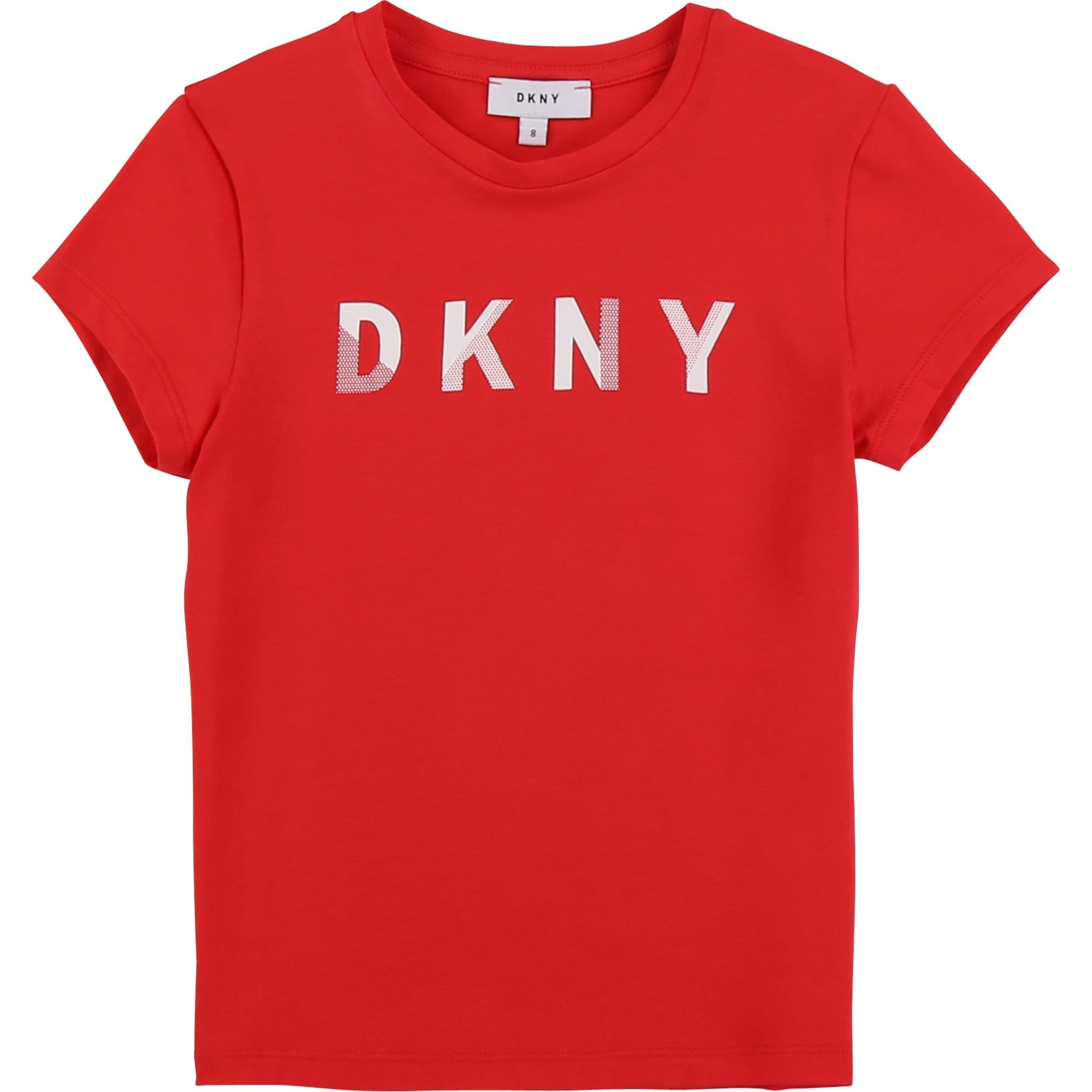 DKNY Red Logo T-Shirt D35Q47/977