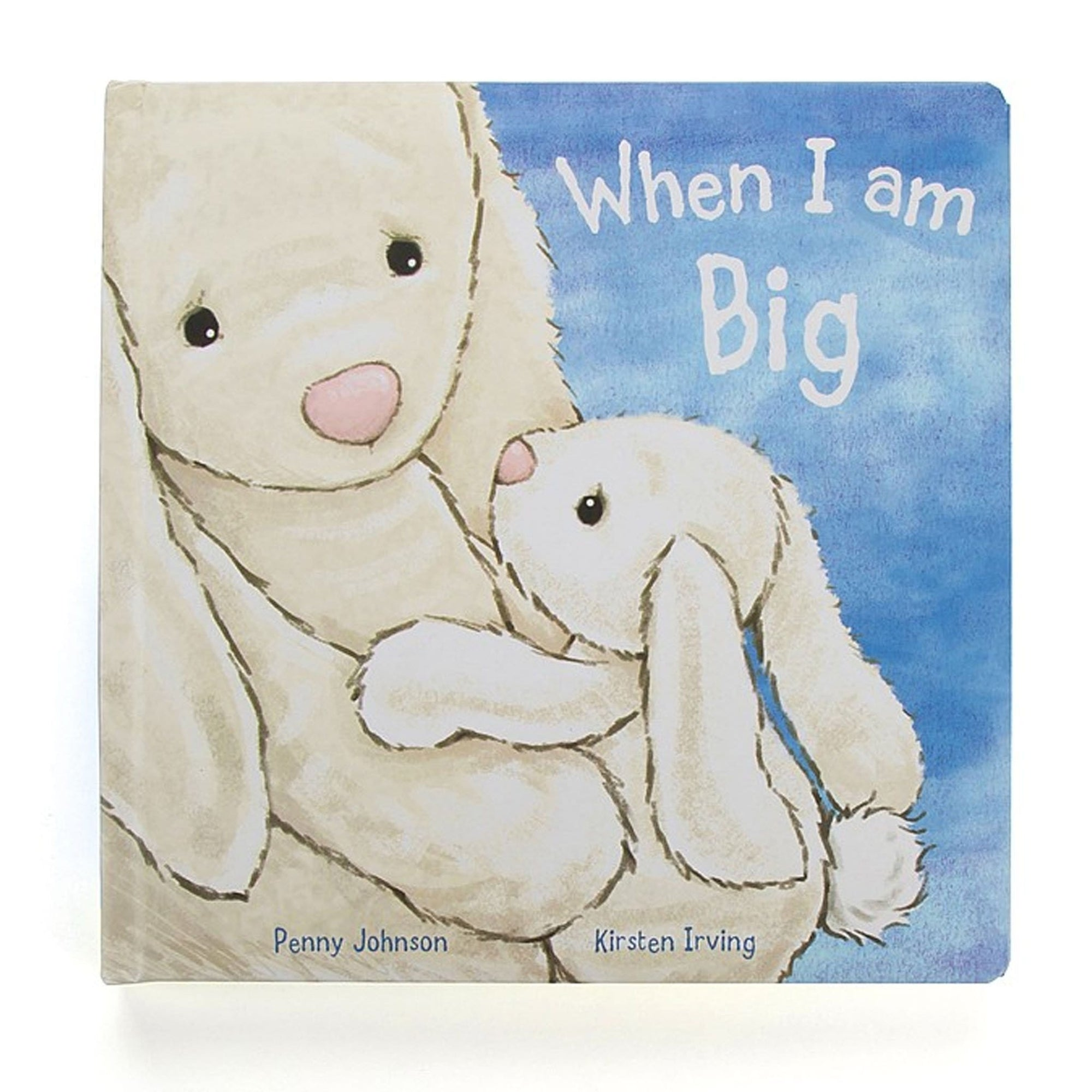 Jelly Cat When I am Big Bunny Book