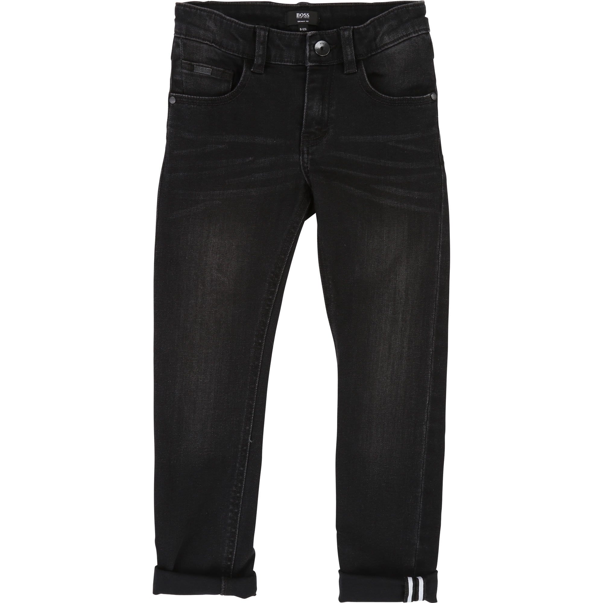 Hugo Boss Denim Jeans Black (4715453055107)