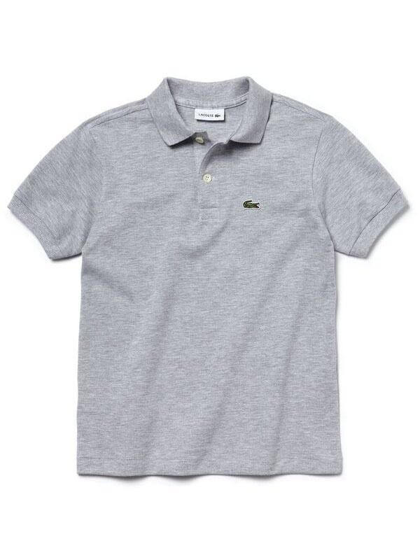 Lacoste Basic Kids Polo Silver Chine
