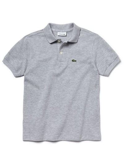 Lacoste Basic Kids Polo Silver Chine (4684757368963)