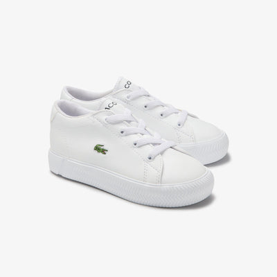 Lacoste Gripshot 0120 2 CUI WHT/WHT - Toddler