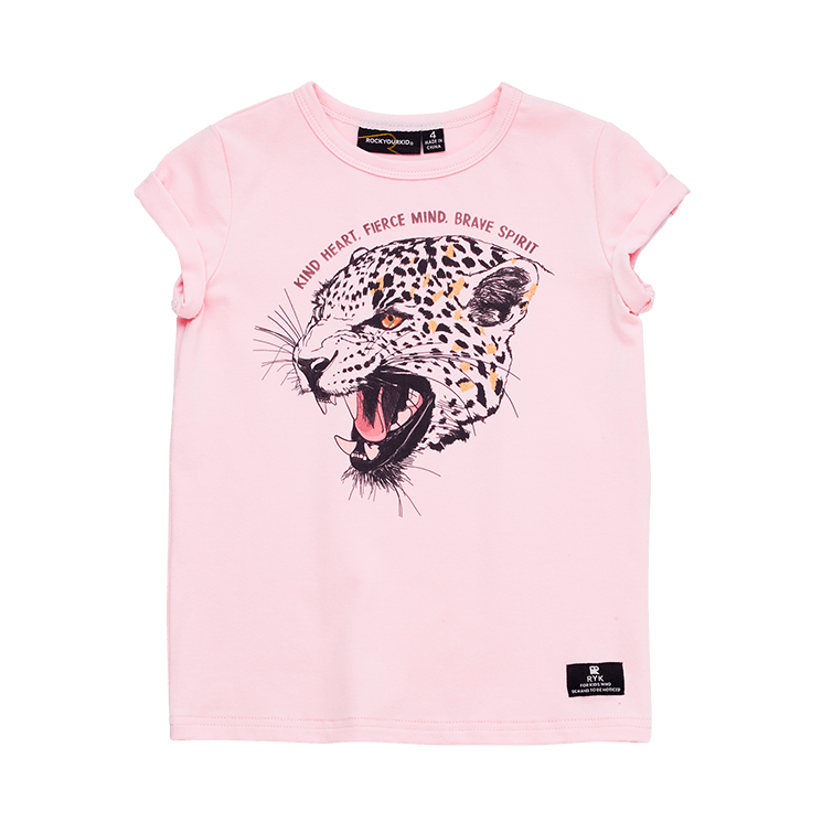 Rock Your Kid Kind Heart Fierce Mind SS T-Shirt