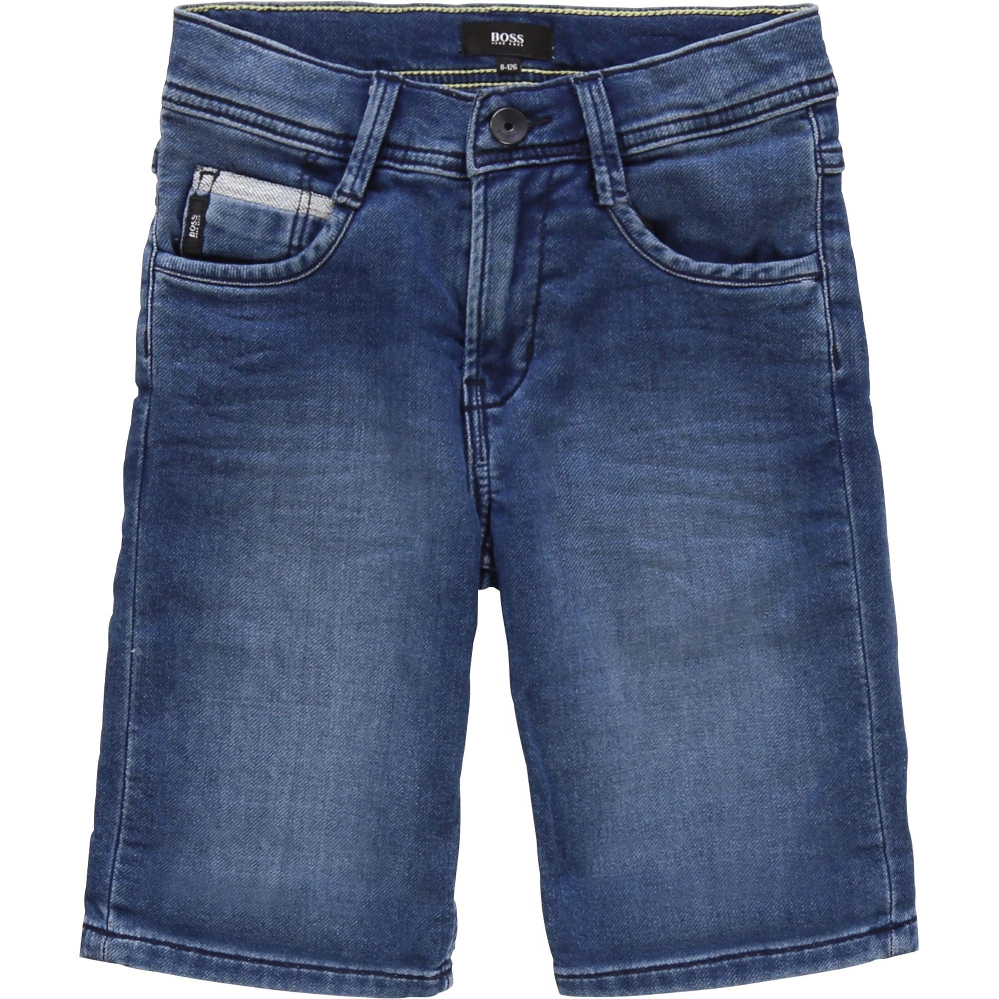 Hugo Boss Bermuda Stone Denim Shorts J24630/Z260