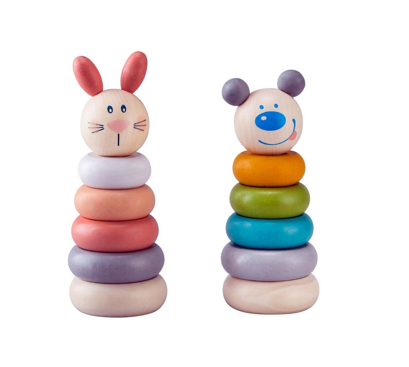 Eleganter Animal Stacking Blocks