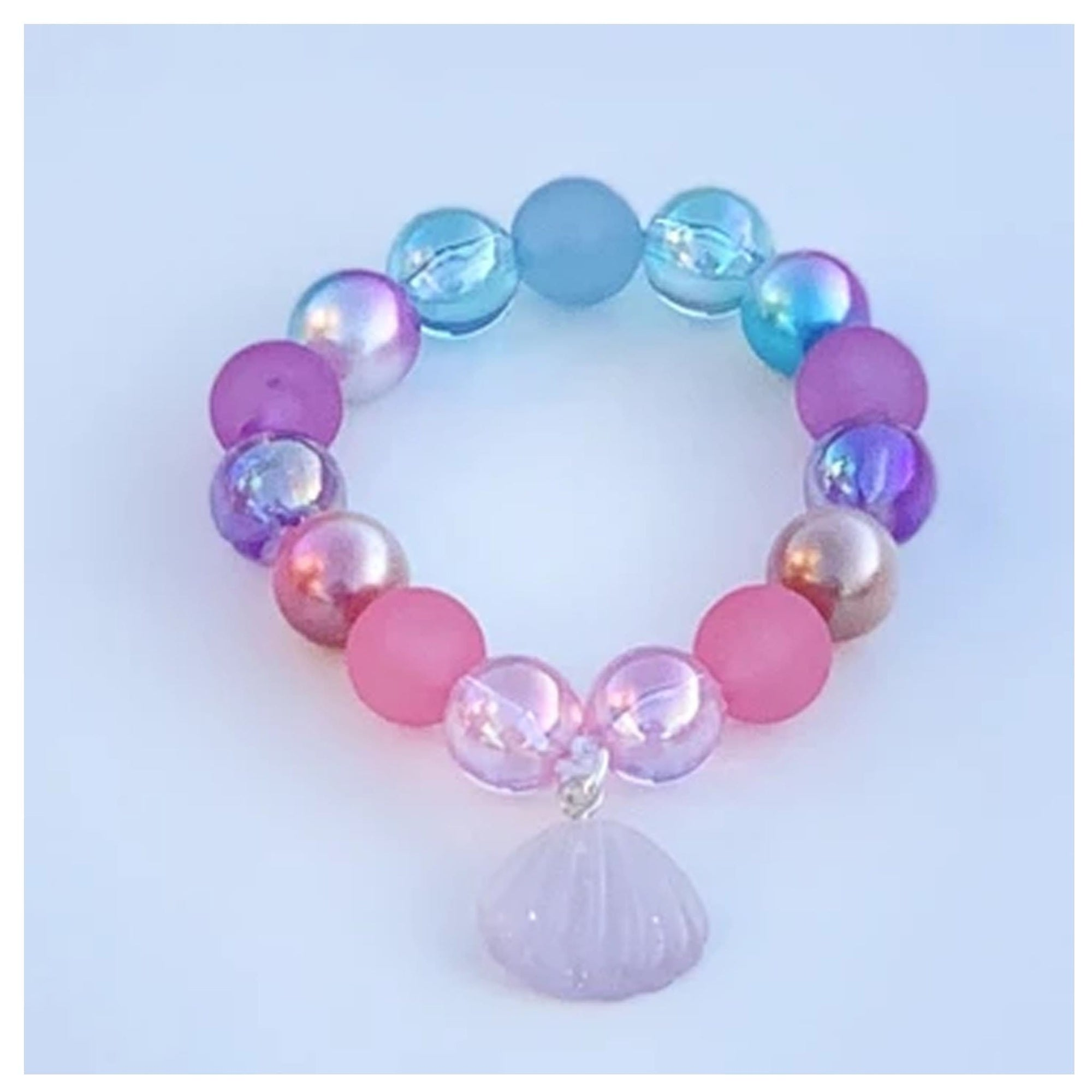 Sweet as Sugar Jellewery Beaded Mermaid Bracelet