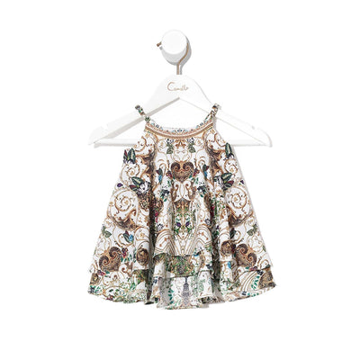 Camilla Night Waiting for Day Babies Ruffle Hem Dress