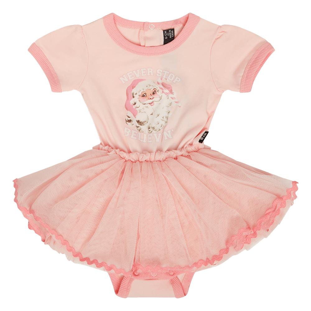 Rock Your Baby Never Stop Believing  Baby Circus Dress