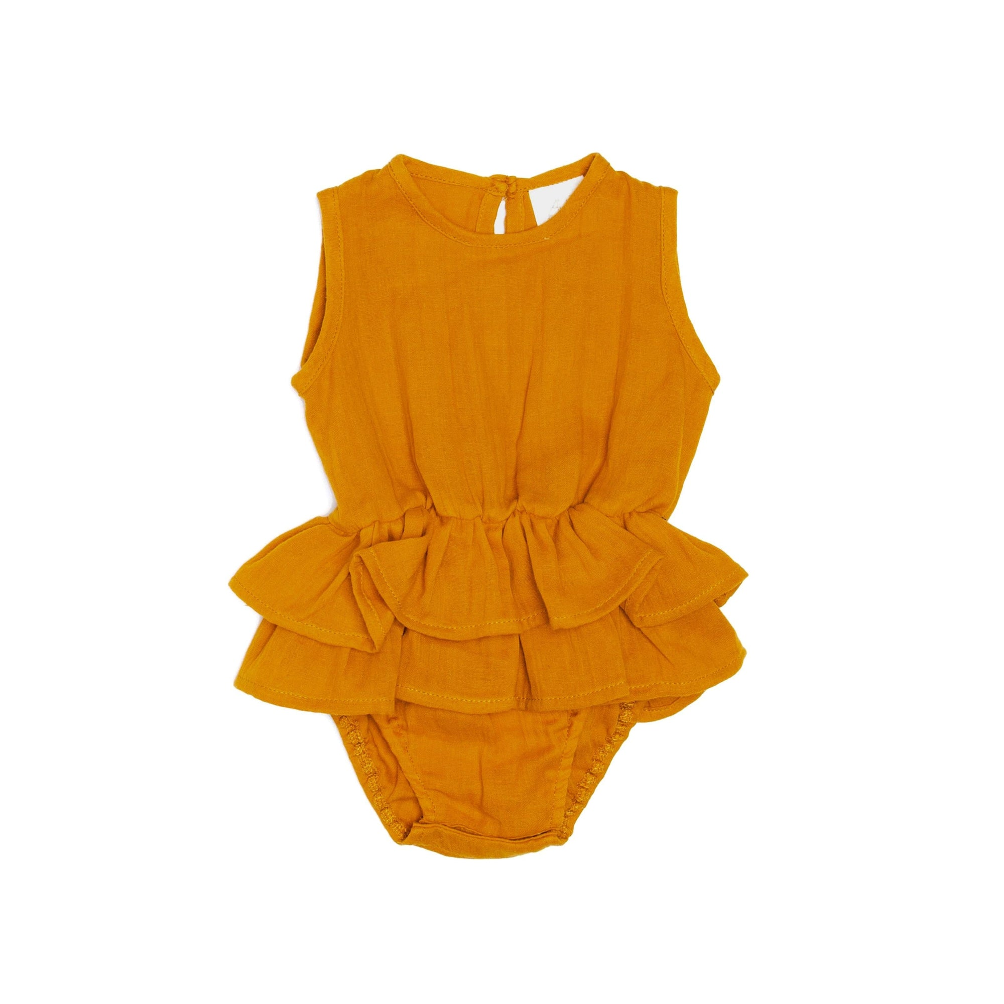Alex and Ant Mischa Playsuit Mustard