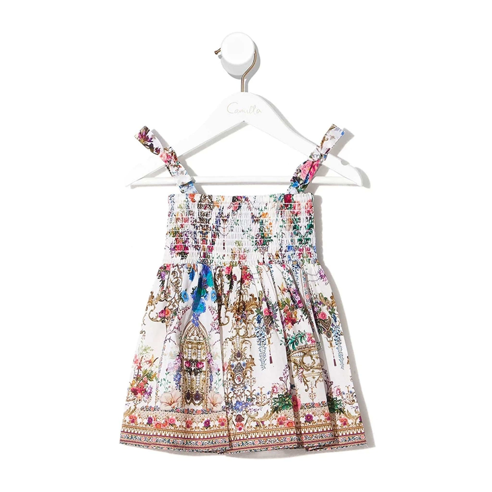 Camilla By The Meadow Babies Dress With Shirring