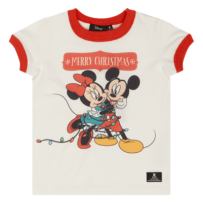 Rock Your Kid Merry Minnie Ringer T-Shirt