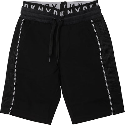 DKNY Boys Logo Waisted Shorts D24709/09B