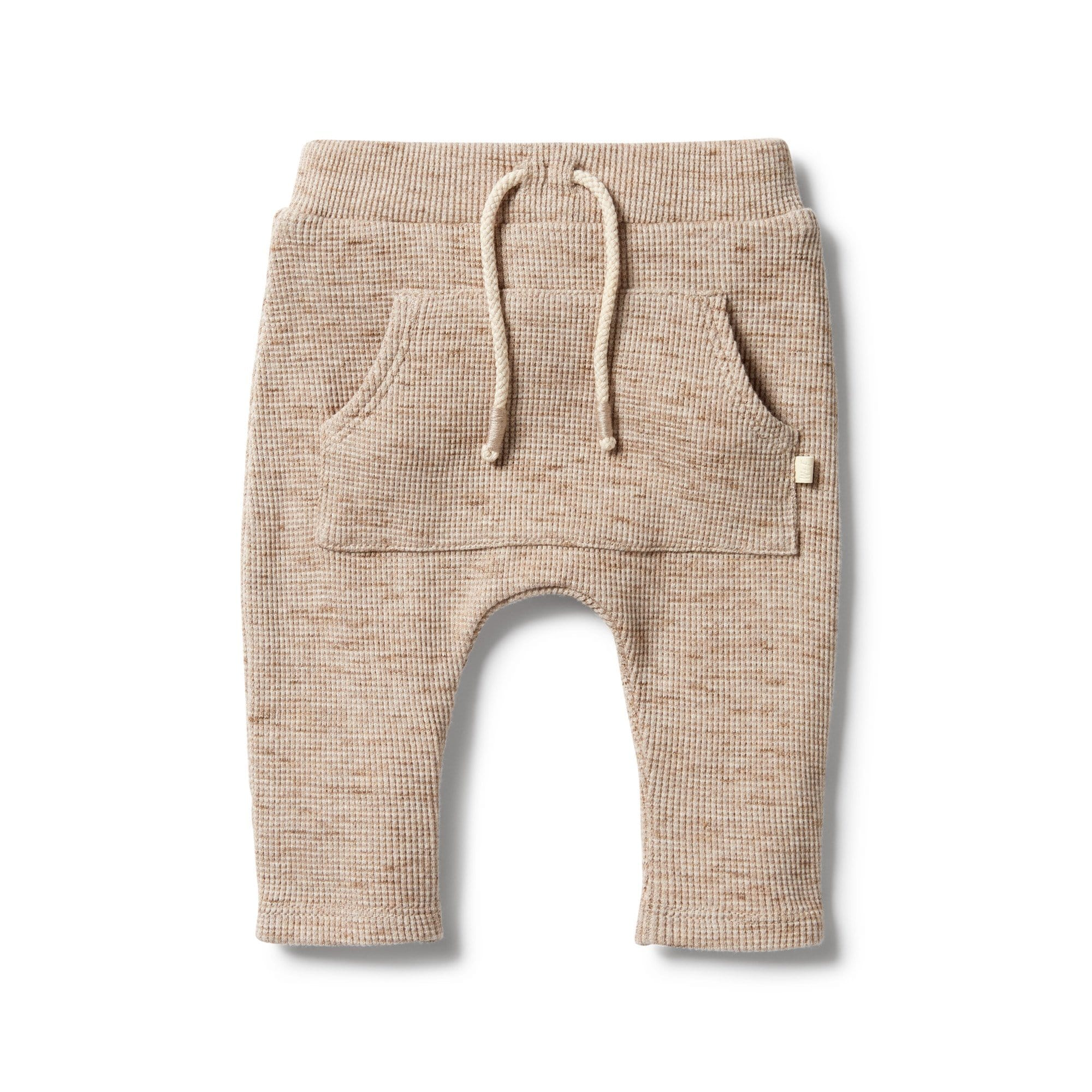 Wilson and Frenchy Waffle Slouch Pant - Oatmeal Fleck