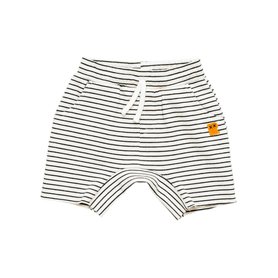 Rock Your Baby Pirate Pug and Stripe Shorts Set