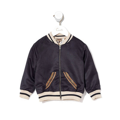Camilla Night Waiting for Day Infants Reversible Bomber Jacket