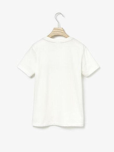 Lacoste Boys Letter Tee Off White (4684906659971)