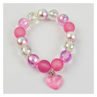 Sweet as Sugar Jewellery Beaded Candy Heart Necklace