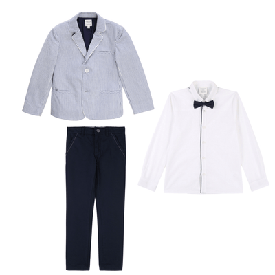 Carrement Beau Blue 3 Piece Suit
