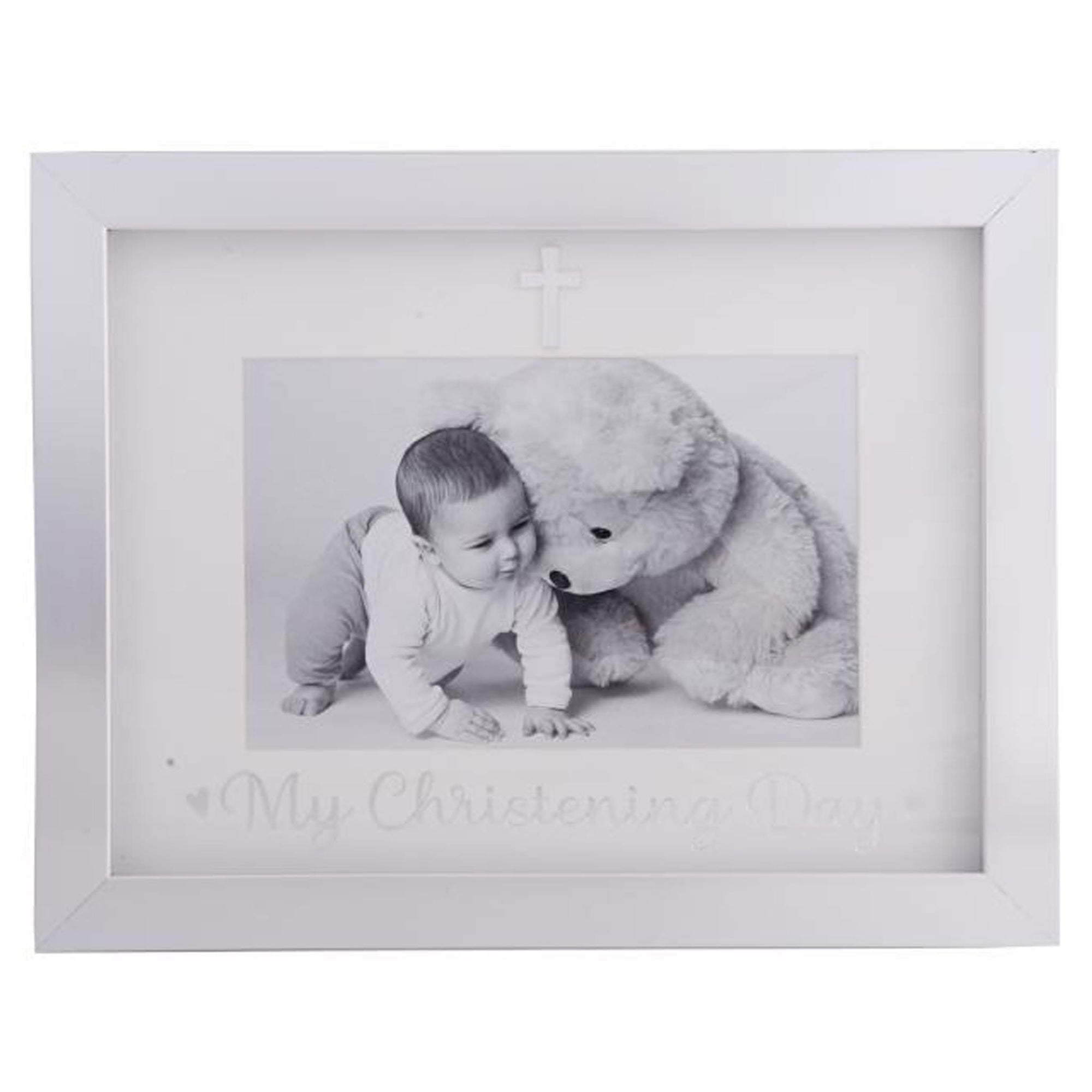 Christening Day Frame 6x4