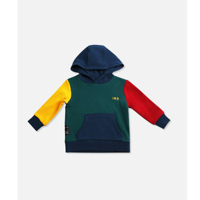 Industrie Kids Baby Colour Block Hoodie (4637598187651)